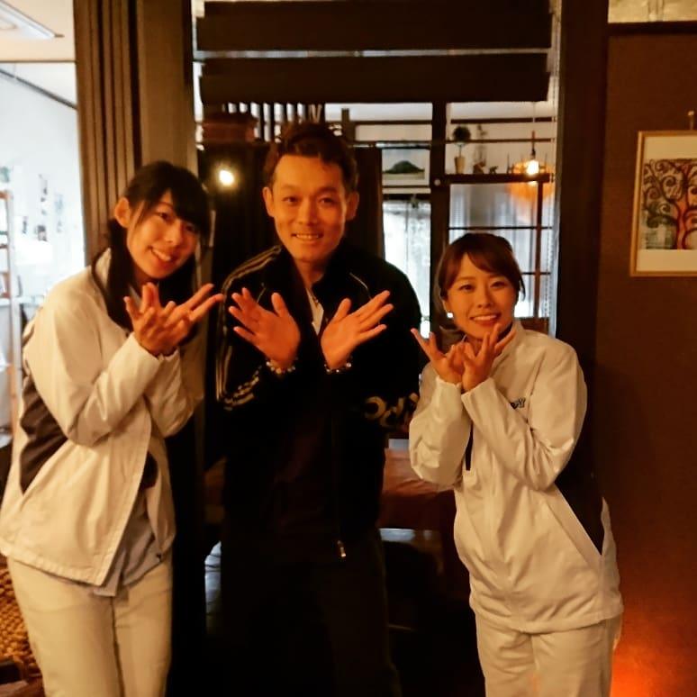 スキッピー足湯Cafe 3ショット