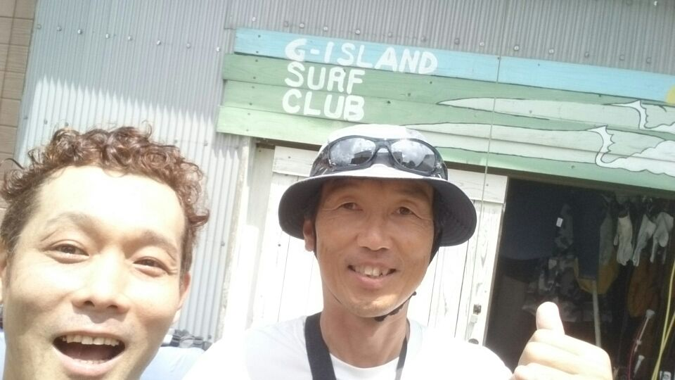 上五島SUP 永井先生と